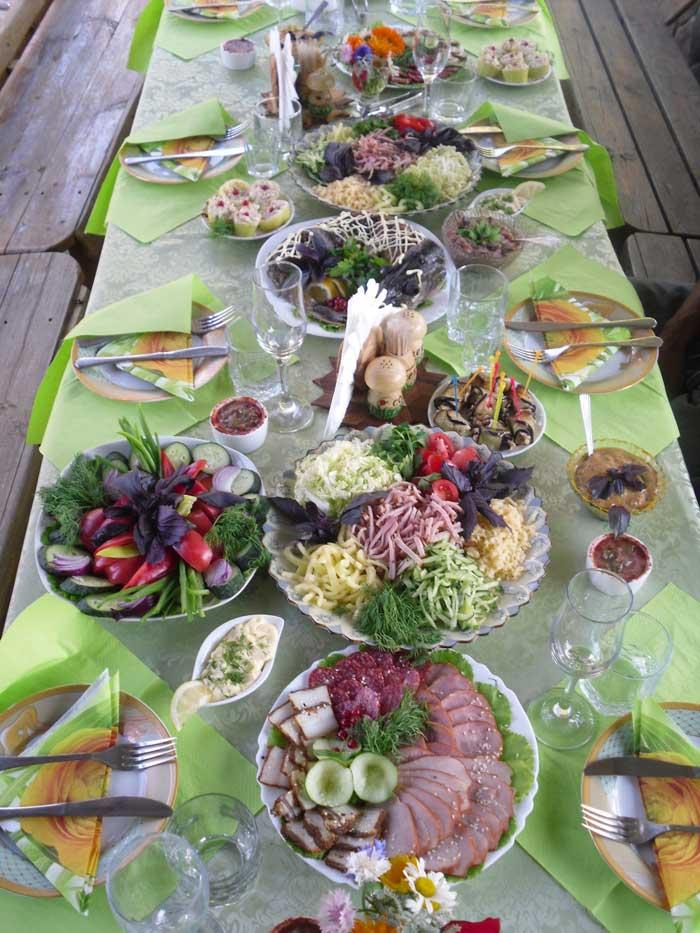 Новые рецепты фото праздничный стол