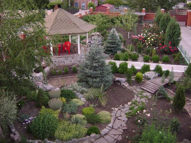 Как красиво сделать свой двор и уютным