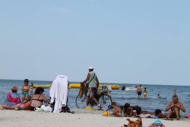 Фото на пляжах азовского моря