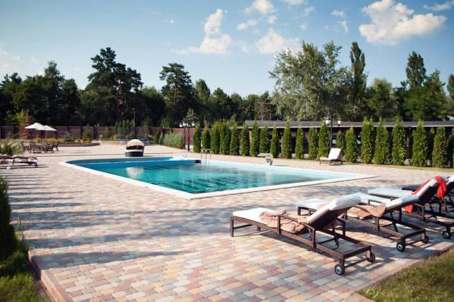 Романковская усадьба, Киев, отдых, бассейн, ресторан, отель, баня
